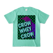 Tシャツ | アイスグリーン | CROW_WHEY_CROW