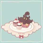 バケッチャとカップケーキ