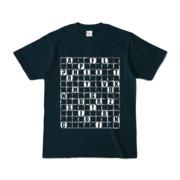 Tシャツ | ネイビー | ALPHABET_GRAVEL
