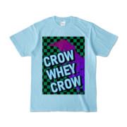 Tシャツ | ライトブルー | CROW_WHEY_CROW
