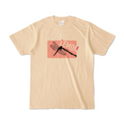 Tシャツ | ナチュラル | Dragonfly_LEMON