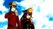 アイス食べる織田姉弟2【FGO】