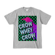 Tシャツ | 杢グレー | CROW_WHEY_CROW