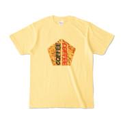 Tシャツ | ライトイエロー | 五角☆互角COFFEE