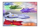 ガミラス ドメル艦隊七色星団