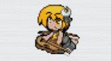 [minecraft 1.16.5]キャラのみ No.098 ちびルナサ[東方人形劇]