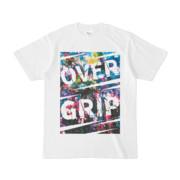 Tシャツ | ホワイト | OverGrip巻いてますか?
