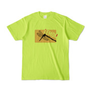 Tシャツ | ライトグリーン | Dragonfly_LEMON