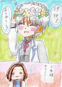 【理玖とわ…的な】花冠のプレゼント♪