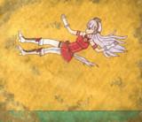 【壁画】ドロップキック