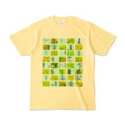 Tシャツ | ライトイエロー | Steel20_and_Grass20
