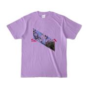 Tシャツ | ライトパープル | Slant_SAKURA