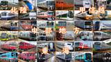 都道府県の鉄道を四列車で表すシリーズ #3(中部地方)