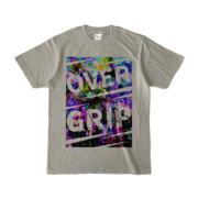 Tシャツ | シルバーグレー | OverGrip巻いてますか?