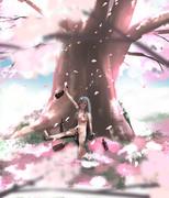 また日本の春の暖かさにやられたポーラ