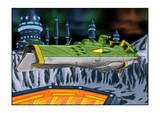 ガミラス戦艦ガイデロール級冥王星基地