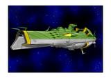 ガミラス戦艦ガイデロール級