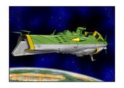 ガミラス戦艦ガイデロール級ガミラス星