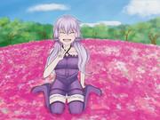 芝桜とゆかりさん