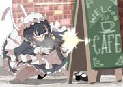 接敵した武装メイド