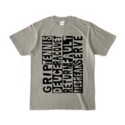 Tシャツ   シルバーグレー   Super☆Tennis_word
