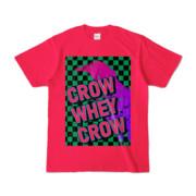 Tシャツ   ホットピンク   CROW_WHEY_CROW