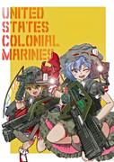 スカーレット姉妹の宇宙海兵隊コス