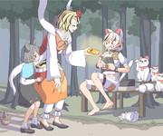 財宝が集まる寅モドキと半端ものの招き猫