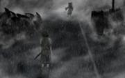 雨の中のペノエロペ(ぢゆしの瞳)