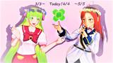 【MMD花フェスタ2021】中間地点です【3/3~5/5】
