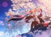 桜なミクさん