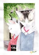 「猫吉」と「桜」