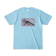 Tシャツ | ライトブルー | Dragonfly_LEMON