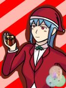 【オリキャラ】サンタ姿のヤマブキ【せかへい】