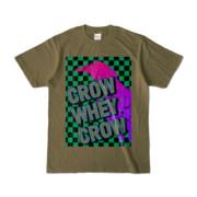 Tシャツ | オリーブ | CROW_WHEY_CROW