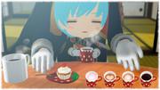 【MMD】いちごの皿とカップ【アクセサリ配布】