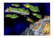 ガミラス シュルツ艦隊 冥王星脱出