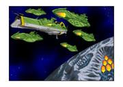 ガミラス シュルツ艦隊冥王星