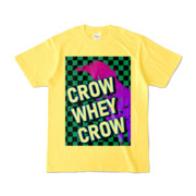Tシャツ | イエロー | CROW_WHEY_CROW