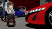 大鳳とNC1型NSX