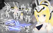 【モデル配布】アーンヴァルMk.2 Ver3.1【MMD神姫】