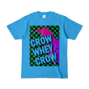 Tシャツ | ターコイズ | CROW_WHEY_CROW