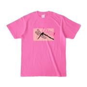 Tシャツ | ピンク | Dragonfly_LEMON