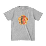Tシャツ | 杢グレー | 五角☆互角COFFEE