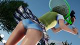 妖夢ちゃん 制服でテニス2