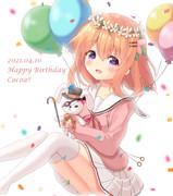 ココアさん誕生日おめでとう!!
