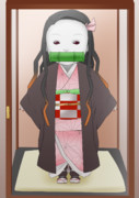 日本人形禰豆子
