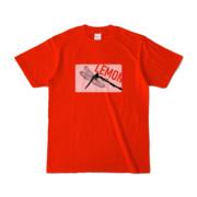 Tシャツ | レッド | Dragonfly_LEMON