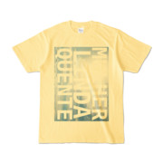 Tシャツ | ライトイエロー | M☆L☆Q_Sky