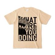 Tシャツ | ナチュラル | 何してるColosseo